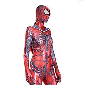 - 41A7btWx0FL - Boruixi Shops Halloween Holiday RED Gwen Lycra Costume