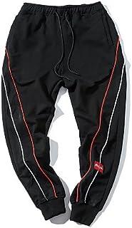 YYNANKU TT&Men's Pants Pantalones de chándal Micro-elásticos de los Mediados de la Subida de los Pantalones de los Hombres Normales, Primavera/caída Simples, XXL