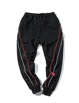 YYNANKU TT&Mens Pants Pantalones de chándal Micro-elásticos de ...