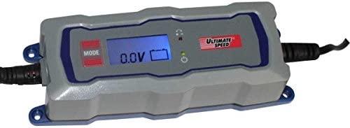 Cargador de Batería para Coches, Moto, Barco con 6V o 12V y Capacidad de 1,2-120 Ah