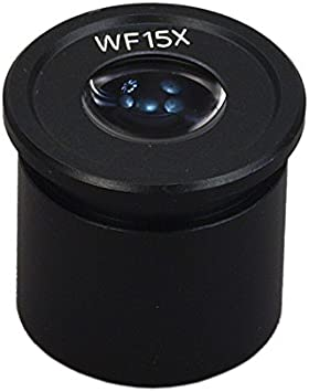 OMAX WF15X Widefield Eyepiece for Stereo Microscope 30.5mm