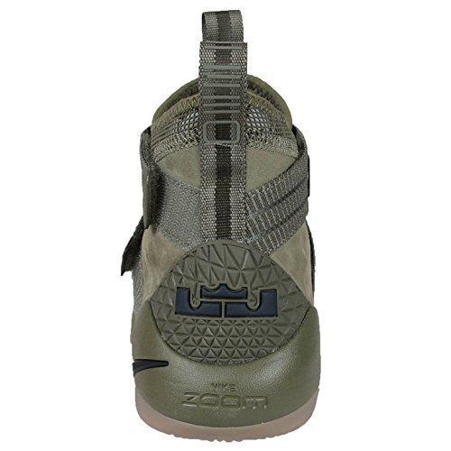 Nike Men's Lebron Soldier XI SFG, Medium Olive/Black=Black, 12 M ()