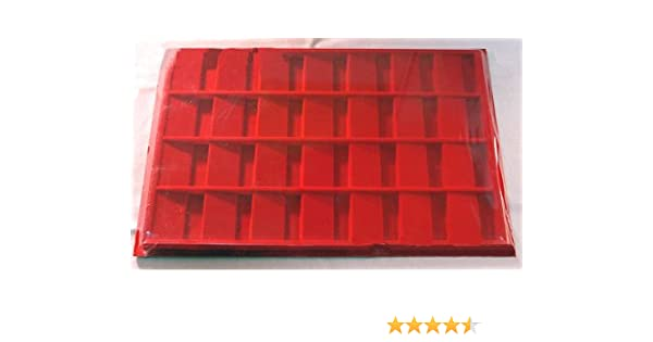 BLACK 1.5 X 1.5 COIN DISPLAY TRAY HORIZONTAL