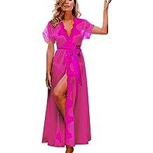 ARINLA 2018 Spring Summer popular Women Sexy Lingerie Pajama Underwear Lace Coat Nightwear