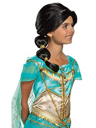 Disguise Disney Jasmine Aladdin Girls' Wig - http://coolthings.us