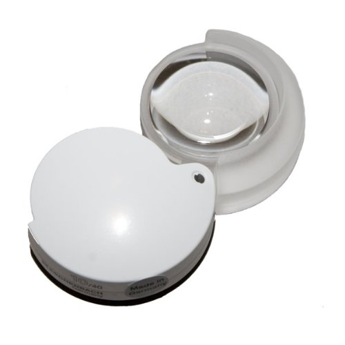 - 10X Eschenbach Pocket Magnifier - White