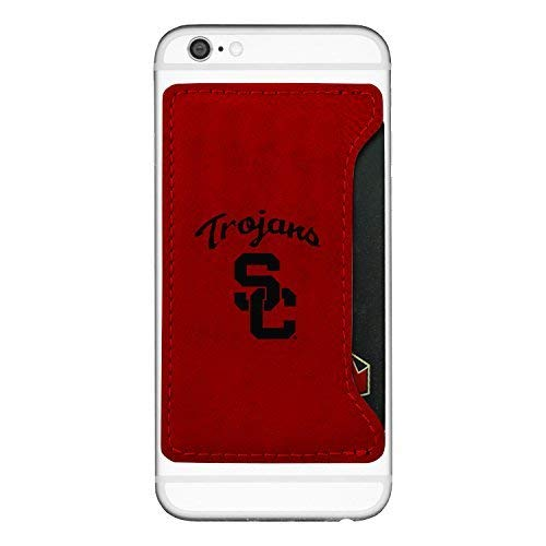 (University of Southern California-Cell Phone Card Holder-Red)