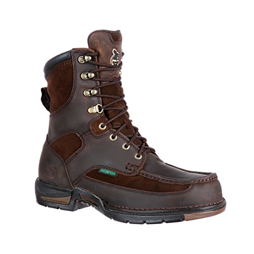 "Georgia Men's Athens 8"" Waterproof Work Boot-G9453 (W11) Brown"