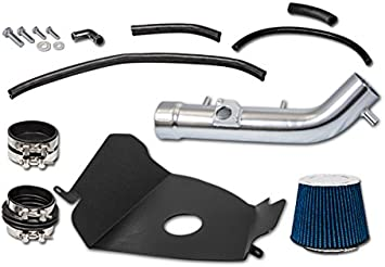 Cold Heat Shield Air Intake Kit BLUE For 99-04 Toyota Tacoma 4Runner 3.4L V6