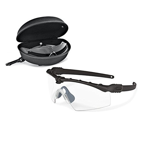 Oakley SI Ballistic M Frame 3.0 Array Clear & Gray, Black ()