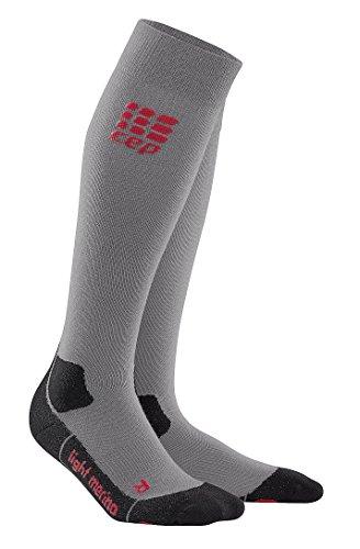 CEP Women's Progressive+ Outdoor Light Merino Socks, Size 3, Volcanic Dust