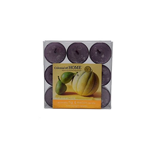 Colonial Candles Fig & Melon Fig and Melon Tealights