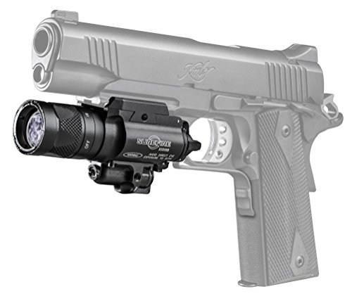 SureFire X400V IRc LED Handgun or Long Gun WeaponLight with IR Output and Infrared Laser Sight by SureFire (Image #2)