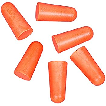 Allen Molded Foam Earplugs, NRR 31 dB (3 Pairs)