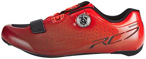 2018 Talla rc7 Shimano Wide 43 Sh Calzado negro Del Rojo Zapatillas v55YxqH