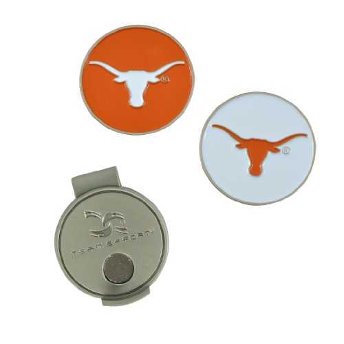 - Team Effort Texas Longhorns Hat Clip & 2 Ball Markers