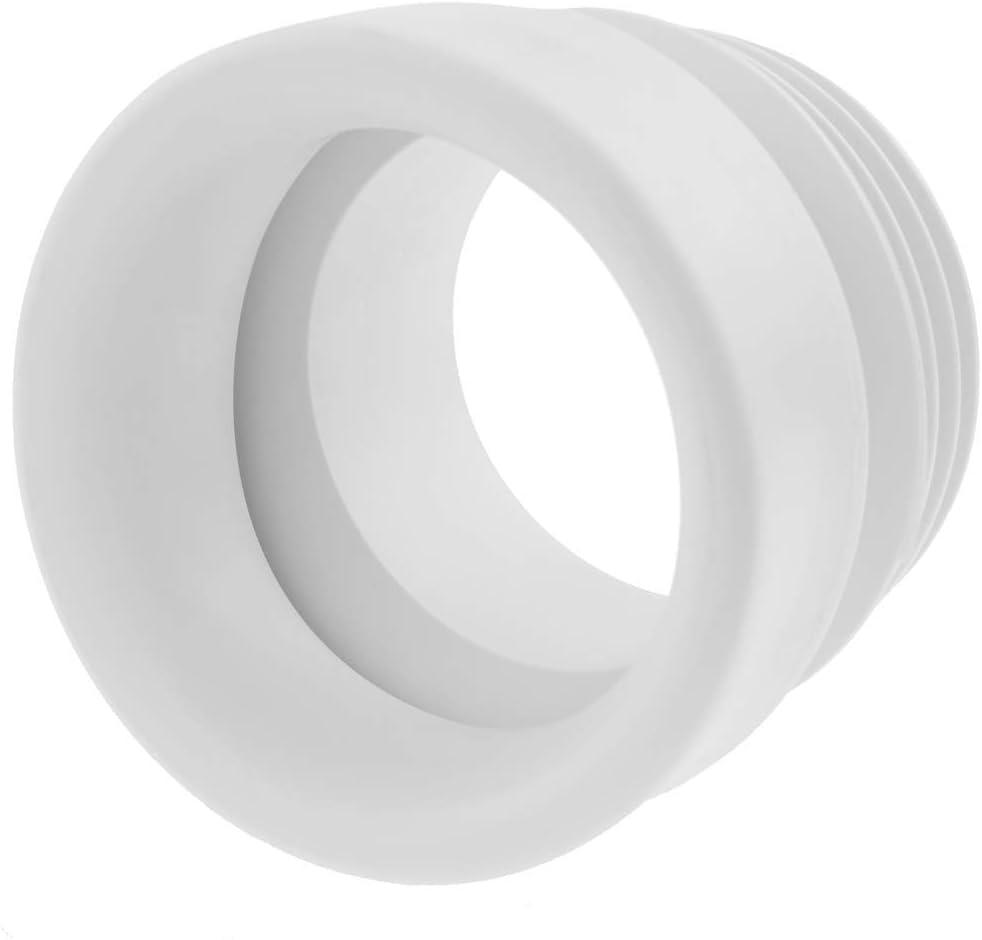 PrimeMatik Manchon de Connexion WC Droit /élastique /∅ 110mm