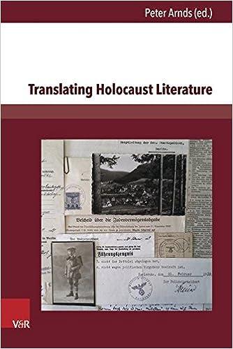Amazon com: Translating Holocaust Literature (9783847105015): Peter