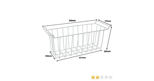 Spares2go cesta jaula para Indesit pecho congelador: Amazon.es: Hogar