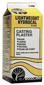WOODLAND SCENICS C1201 Lightweight Hydrocal 1/2 Gallon WOOU1501