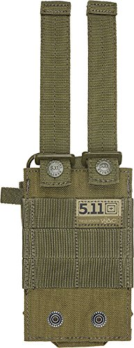 5.11 Radio Pouch Compatible with 5.11 Bags/Packs/Duffels, Style 58718, TAC OD