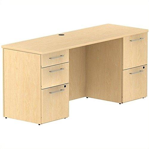 BBF 300 Series 66W x 22D Double Pedestal Desk