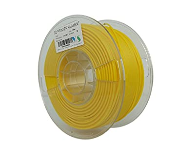 YS YS-PLA-Y-2.85-1.0 PLA Filament, Compatible with Ultimaker/Airwolf/Luzbot 3D printer, 2.85 mm 1kg, Yellow