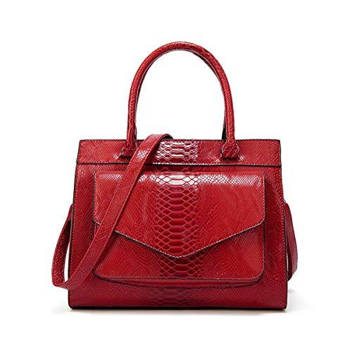 per parker Red donna Pelle Luxury Anna rossa a moda Borsa tracolla 8wBxTqd6B