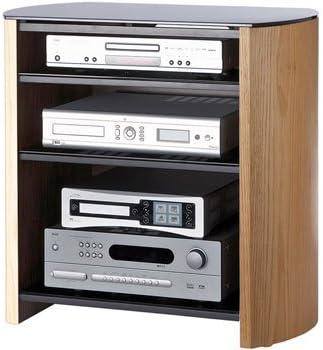 Alphason Finewoods - Mueble para televisor (4 estantes), Color Roble Claro: Amazon.es: Electrónica