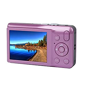 YSANY K11 2.7 Inch TFT 5X Optical Zoom 16MP 1280 X 960 HD camcoder Digital Video Cameras--PIink from YSANY