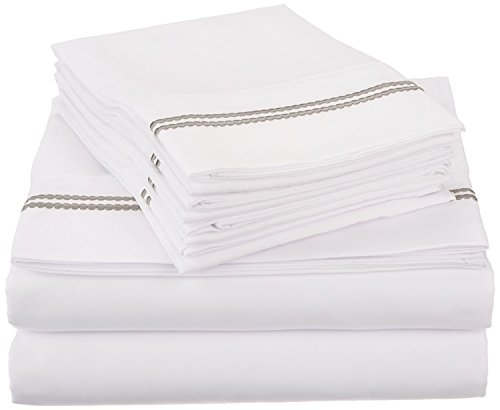 super-soft-light-weight-100-brushed-microfiber-queen-wrinkle-resistant-6-piece-sheet-set-white-with-