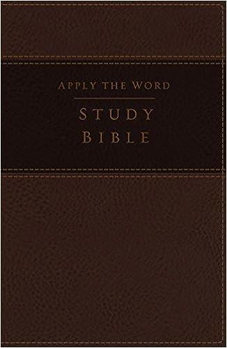 NKJV, Apply the Word Study Bible, Large Print, Leathersoft