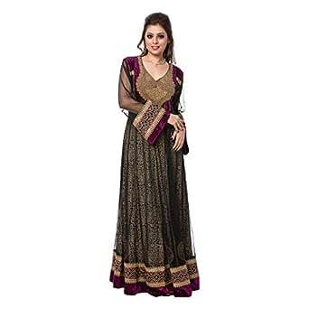 Lace and Lass Multi Color Wedding Jalabiya For Women