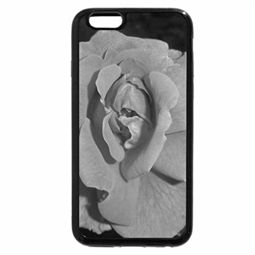 iPhone 6S Plus Case, iPhone 6 Plus Case (Black & White) - Orange Rose