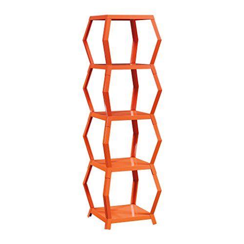 Sauder 415246 Soft Modern Tower Etagere, L: 16.18