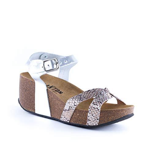 Plakton Donna Sabot Sabot sandali Argento sandali Plakton Donna Argento OxOnwqa4P