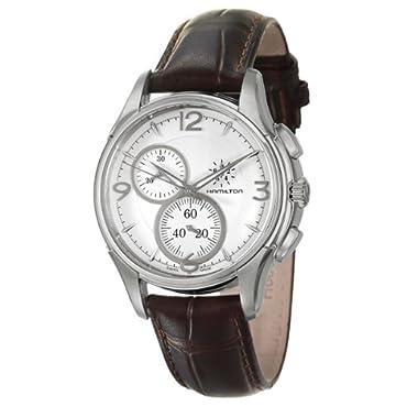 Hamilton Men's H32372555 Jassmaster Silver Chronograph Dial Watch