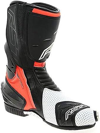TRACK TECH RST Flou RED Motorcycle Boots EVO CE 2101 Enduro MX Quad Trail Bike ATV MTB Safety Shoes UK 10//EU 44
