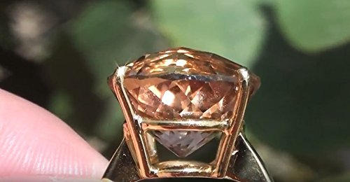 Natural Imperial Topaz 17.97ct Great Treatment for Depression