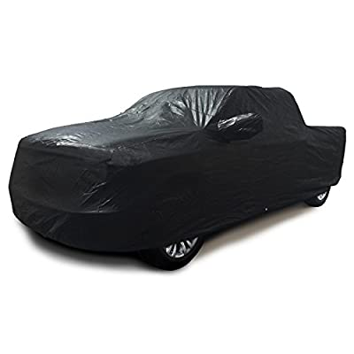 CarsCover 100% Sunblock Custom Fit 2001-2020 Ford F150 Crew Cab 6.5ft Short Bed Box Truck Car Cover Xtrashield Black: Automotive