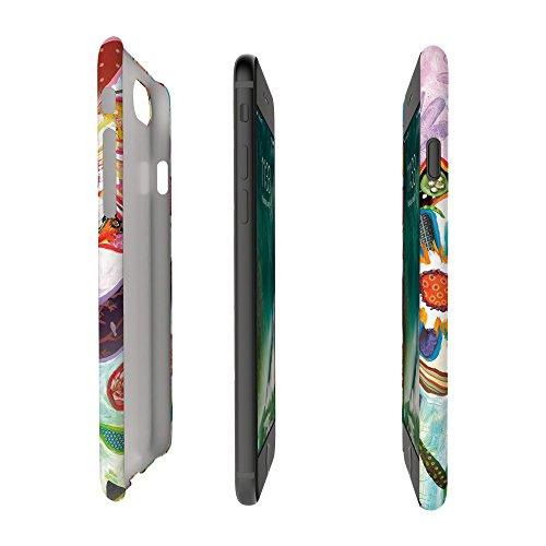 Koveru Back Cover Case for Apple iPhone 7 - Popdots scarlet