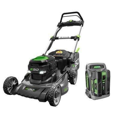 EGO 20 in. 56-Volt Lithium-Ion Electric (Brushless) Walk Behind Steel Deck - Push Mower Kit with 5.0Ah Battery by EGO Power+