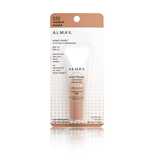 Almay Smart Shade Concealer, Hypoallergenic, Cruelty Free, Oil Free, Fragrance Free, Dermatologist Tested