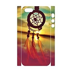 3D Bumper Plastic Customized Case Of Dream Catcher for iPhone 5,5S