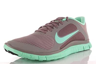 Nike Womens Free 4.0 V3 11.5 M US Canyon Grey/Green Glow