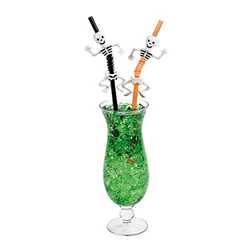 Halloween Skeleton Straws - Party and Events - Halloween Straws