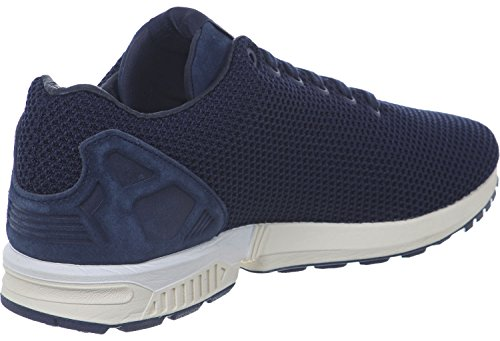 Blue Collegiate Navy Trainers adidas Zx Flux White qOCwx1pH
