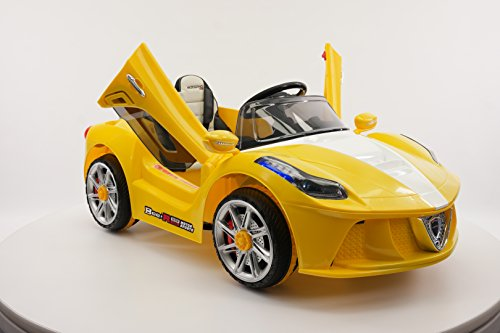 d23e8bdfb3e Ride on Toy Car for Children 12V Battery Powered Electric Wheels MODEL 2018  Ferrari Spider Style