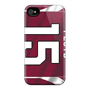 (SBH210XKTM)durable Protection Case Cover For Iphone 4/4s(arizona Cardinals)