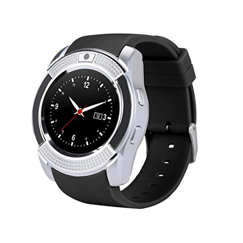 Amazon.com: Men Women Sport Watch-Bluetooth3.0 Smart Wrist ...